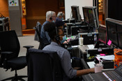 The video master control for the 2021 Annual Council in Silver Spring, Maryland, United States of America. (Photo: Brent Hardinge  / ANN)