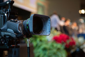 A video camera during the 2021 Annual Council in Silver Spring, Maryland, United States of America. (Photo: Brent Hardinge  / ANN)