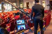 Camera operators and technology is a vital component of the 2021 Annual Council in Silver Spring, Maryland, United States of America. (Photo: Brent Hardinge  / ANN)